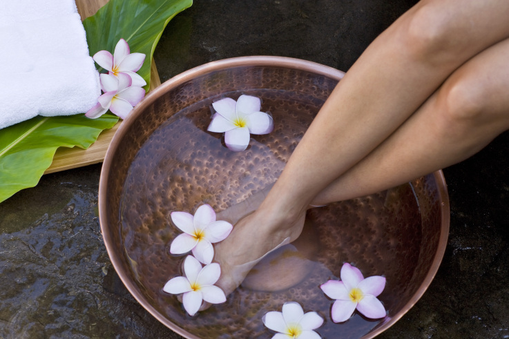 How to spa pedicure